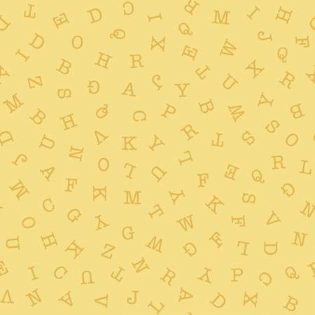 Riley Blake Hungry Animal Alphabet Abc Toss Lemon C10184R-LEMO