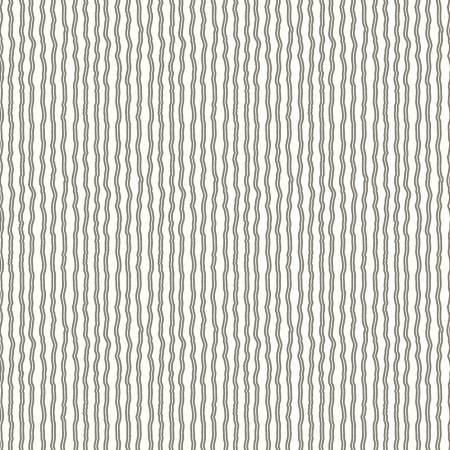 Hungry Animal Alphabet Wavy Stripe Charcoal