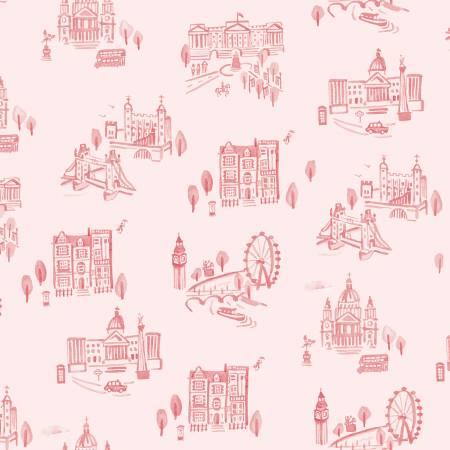 Notting Hill London Blush by Riley Blake