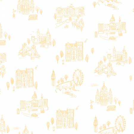 Notting Hill London in Yellow by Amy Smart for Riley Blake Designs