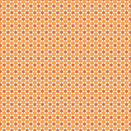 Flea Market Quilt Orange