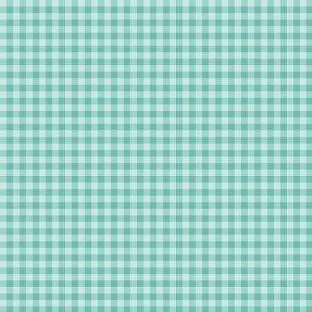 Strawberry Honey Gingham Aqua