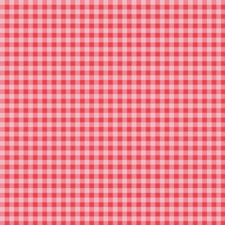 Strawberry Honey Gingham Red
