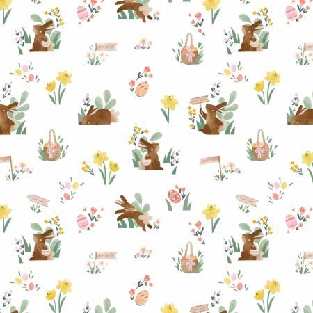 Easter Egg Hunt Main White