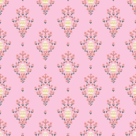 C10271 Pink Eggs Easter Egg Hunt Riley Blake