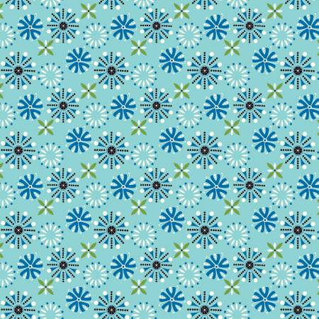 Oh Happy Day Florals Aqua