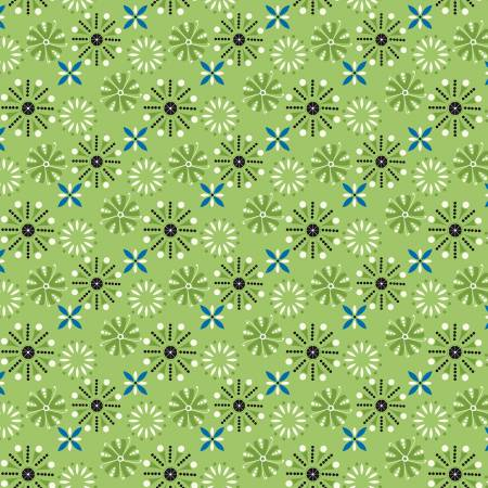 Oh Happy Day Florals Green