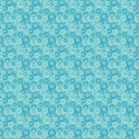 Oh Happy Day Circles Aqua C10312