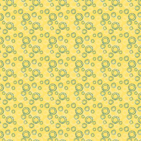 Oh Happy Day Circles Yellow