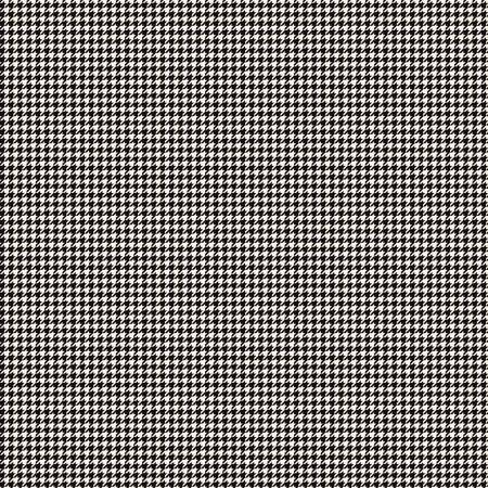 Oh Happy Day Houndstooth Black