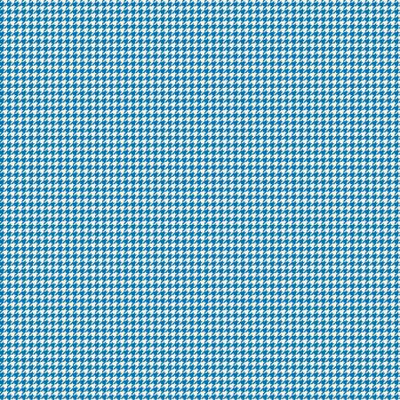 Oh Happy Day Houndstooth Blue