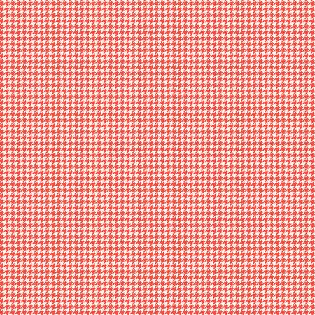 Oh Happy Day Houndstooth Red