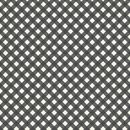 Gingham Gardens Check Charcoal