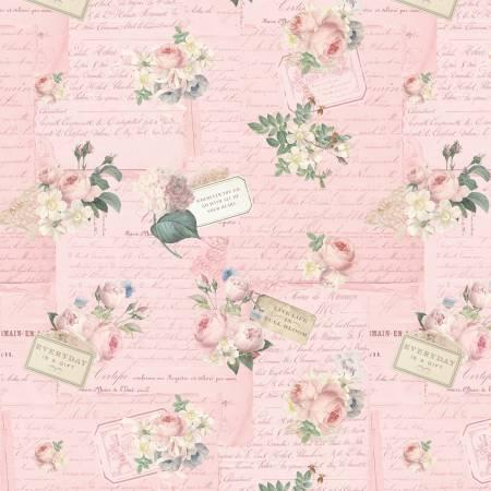 Rose Violets Garden Party Blush