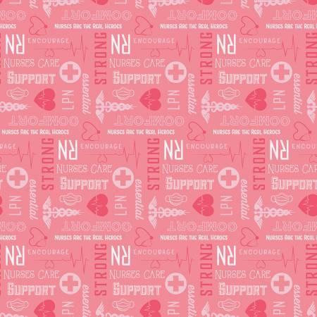 First Responders Nurse Pink