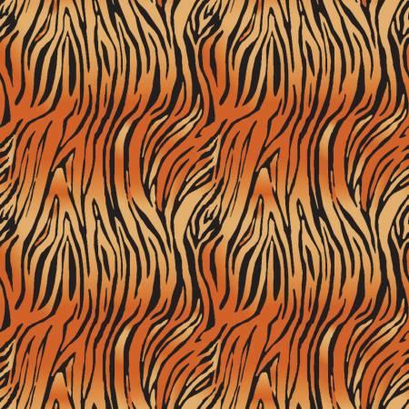 Riley Blake On Safari Bengal Orange
