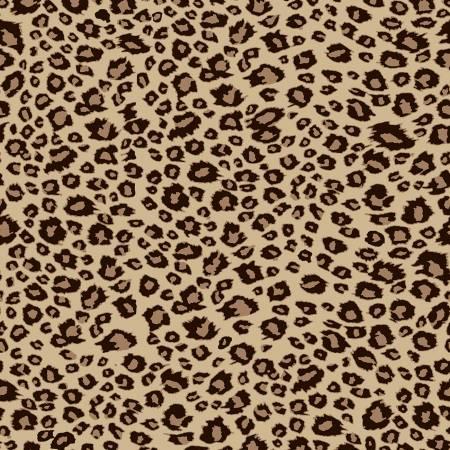 On Safari Leopard Brown