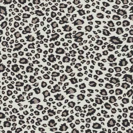 On Safari Leopard Gray