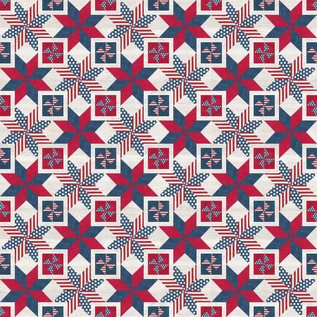 Let Freedom Soar Quilt Block Panel