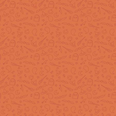 Spooky Hollow Icons Orange