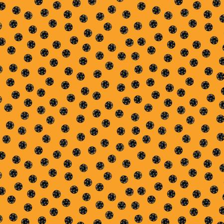 Old Made Snap Dots Orange