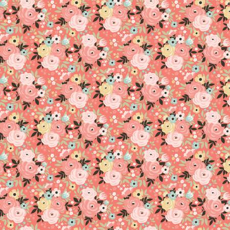 Joy In The Journey Floral Coral