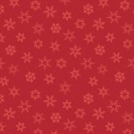 Winterland Snowflakes Red