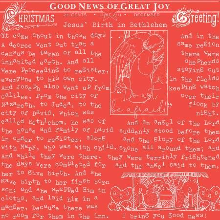 Christmas Good News Red