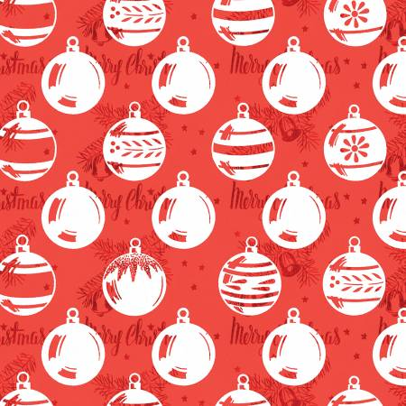 Christmas Ornaments Red