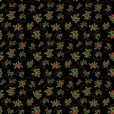 Christmas Holly Black