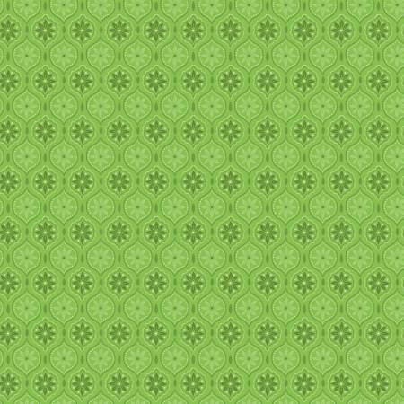 Snowed In Medallion Green