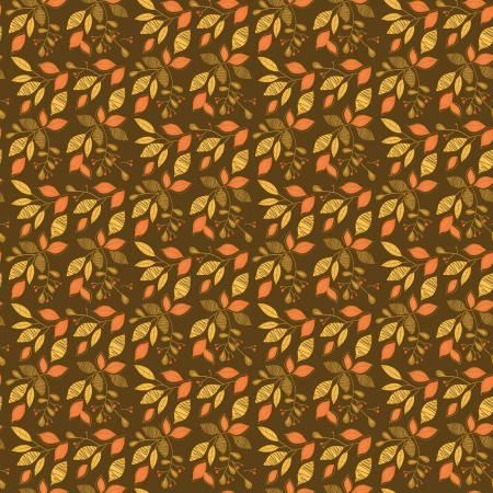 Adel in Autumn Leaves Chocolate C10822