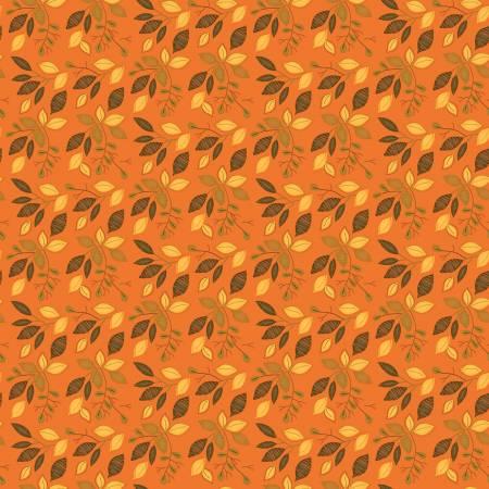 Adel in Autumn Leaves Orange C10822