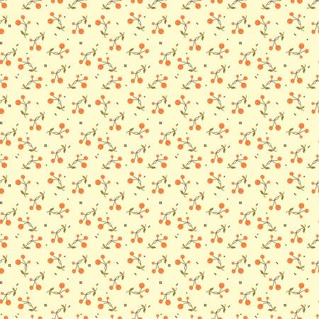 Adel In Autumn C10823R-CREA Autumn Berries Cream
