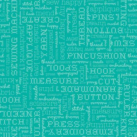 Stitch Text Vivid C10921