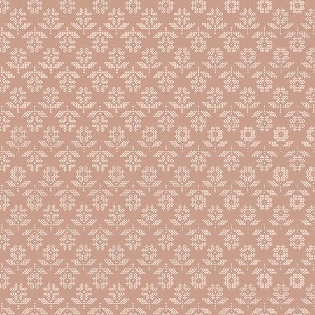 Stitch Flower Nutmeg C10932