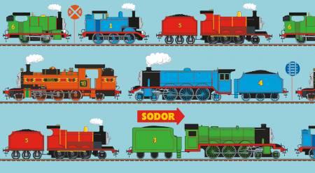 Thomas & Friends Train border