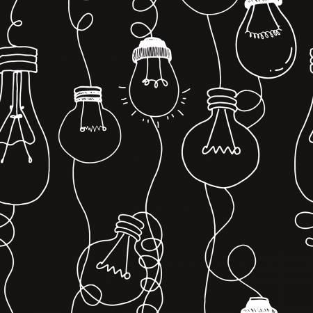 Coffee Chalk Bulbs Black