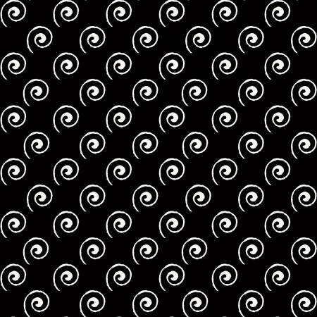 Coffee Chalk Steam Swirl Black