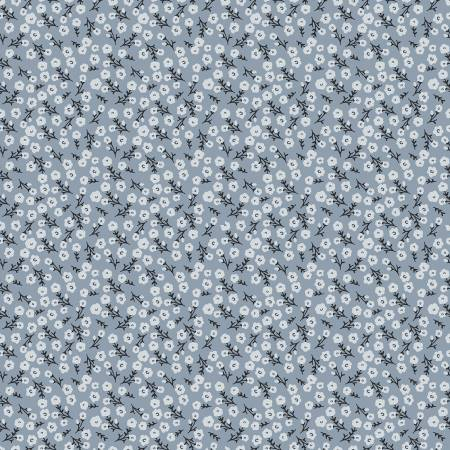 Gingham Foundry Blossoms Blue - Coming Soon!