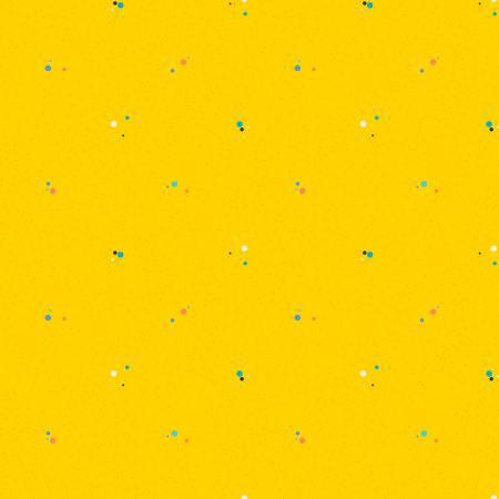 Colour Wall Dots Yellow