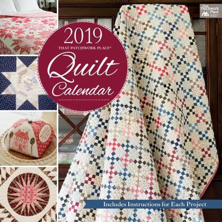 That Patchwork Place 2019 Quilt Calendar