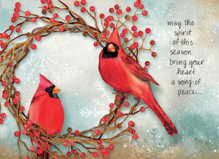 Boxed Christmas Cards - May The Spirit
