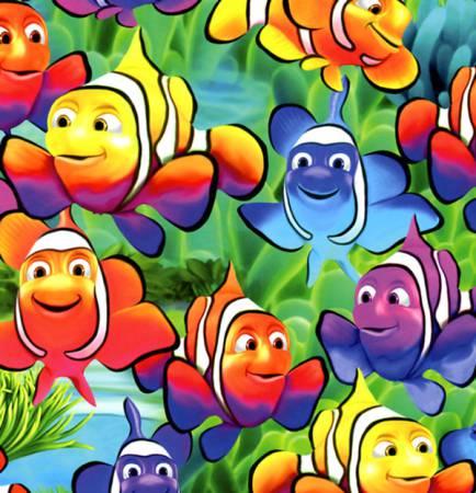 MICHEAL-C1824 MULTI CLOWN FISH