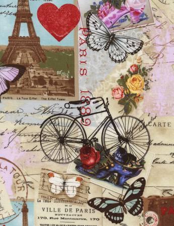 Antique Paris/Bicycle