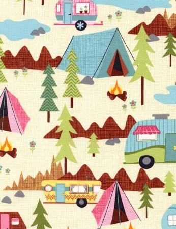 Cream Camping
