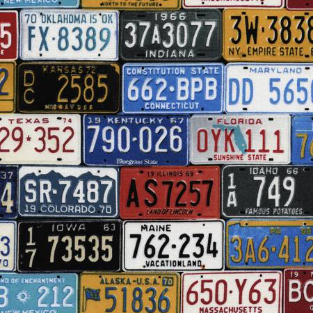 Multi License Plates