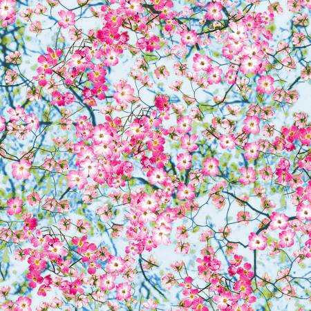 Spring Flowering Trees - Tulip Farm, Timeless Treasures