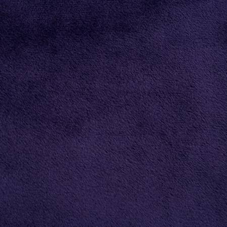 Eggplant Solid Cuddle 90in Wide