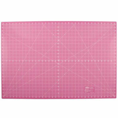 Pink 5 Layer Self Healing Cutting Mat 34in x 22in